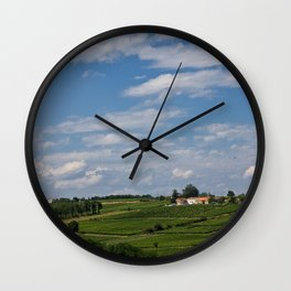 french landscape Wall Clock