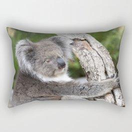 Portrait of a Koala Rectangular Pillow