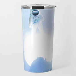 Astronaut on the Sun Travel Mug
