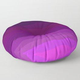 Purple Pink Plum Ombre Floor Pillow