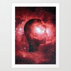 Head Space (No.3) Art Print