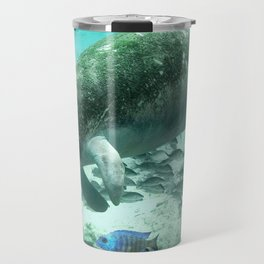 Large  Manatee Travel Mug