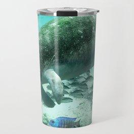 Large  Manatee Travel Mug