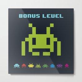 Space Invader VI Metal Print