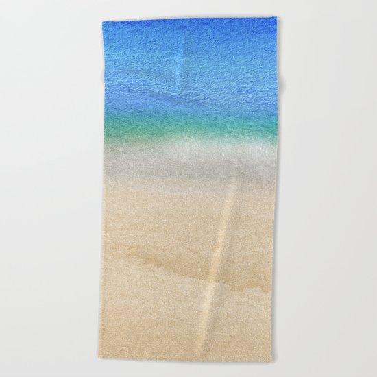 Tropical sea #8 Beach Towel