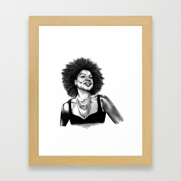 My authenticity is my rebellion Framed Art Print