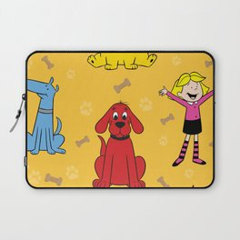 Clifford the big red dog Laptop Sleeve