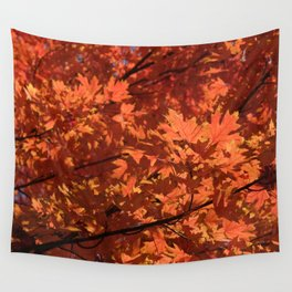 Fall Glow Wall Tapestry