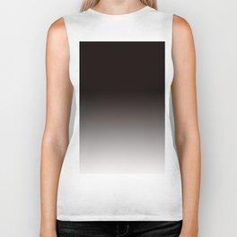 Monochromatic Background, Faded Black to Grey Biker Tank