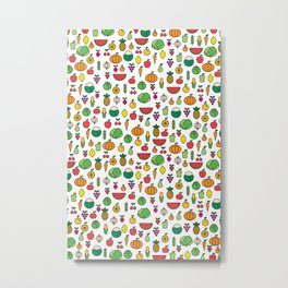fruits & vegetables Metal Print