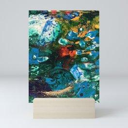 Mini World Environmental Blues 1 Mini Art Print