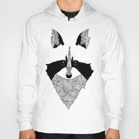 raccoon Hoodies featuring Raccoon by Art & Be