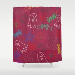 Trick or treat #2 Shower Curtain