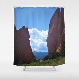 Red Rocks 2 Shower Curtain
