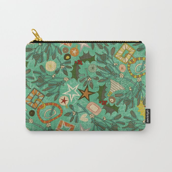 festive berries Carry-All Pouch
