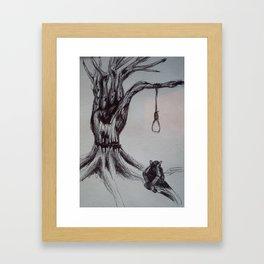 Hangman's Reality Framed Art Print