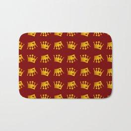 Crown Pattern Bath Mat