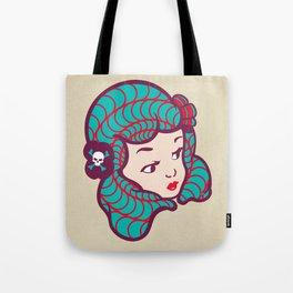 Girl Power Dynamite Laser Beam Tote Bag
