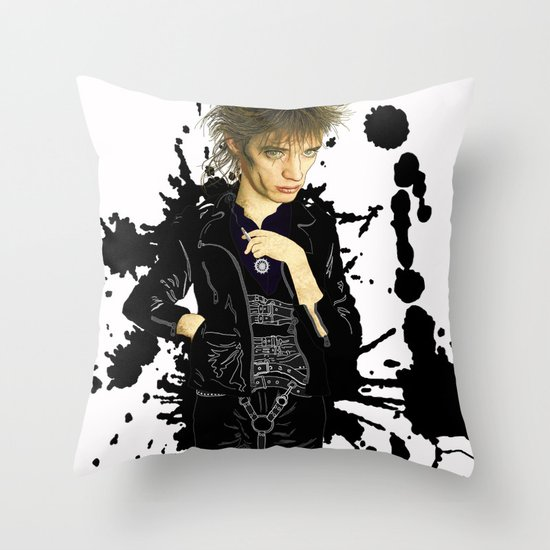 Blixa  Throw Pillow