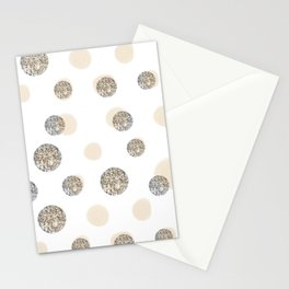 POIS CHIC WHITE Stationery Cards