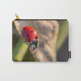Seven-Spotted Lady Beetle Carry-All Pouch