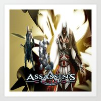 assassins creed Art Prints featuring Assassins Creed   by store2u