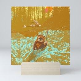 """Wicket"" by Showdeer Mini Art Print"