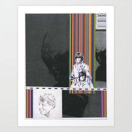 Collage #8 Art Print