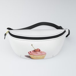 Perfect Pink Cupcake Fanny Pack