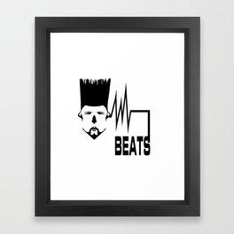 BEATS Framed Art Print