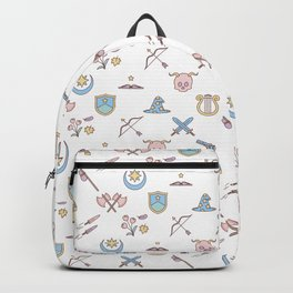 Cute Dungeons and Dragons classes Backpack