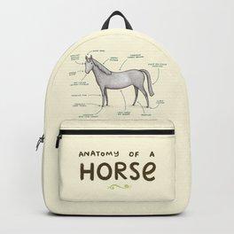 Anatomy of a Horse Backpack