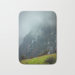 Mountains landscape Bath Mat