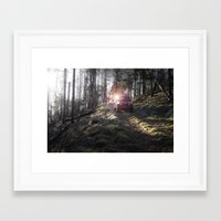 jeep Framed Art Prints featuring Jeep by Allen Carroll Cook