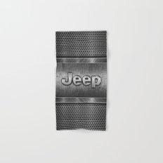 Steel Jeep Hand & Bath Towel