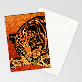 Sketched Indian Bengal Tiger Stationery Cards