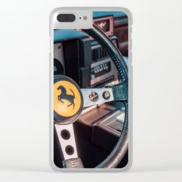 CARS & COFFEE. 003. Clear iPhone Case
