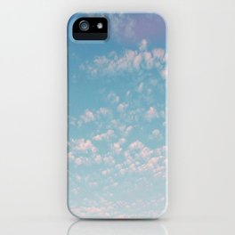summer clouds / san francisco, california iPhone Case