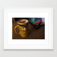game grumps Framed Art Prints featuring Grumps by caramel jean