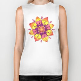 Berry blasted Biker Tank