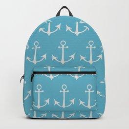 Nautical Anchors (Boat Anchors) - Blue Gray Backpack