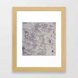 Sandy grain Framed Art Print