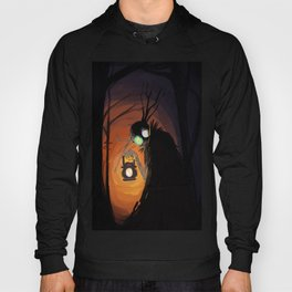 The Beast and the Lantern Hoody