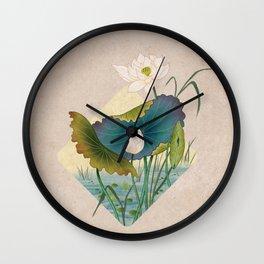 lotursflowers C : Minhwa-Korean traditional/folk art Wall Clock