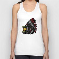 master chief Tank Tops featuring The Chief by Figgy