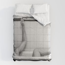 Thinking woman ll Comforters