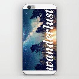 Starry Night - Wanderlust - Travel iPhone Skin
