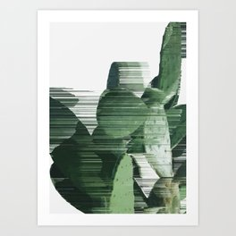 Assorted Cactus Art Print