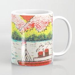 Old Matchbox label #7 Coffee Mug