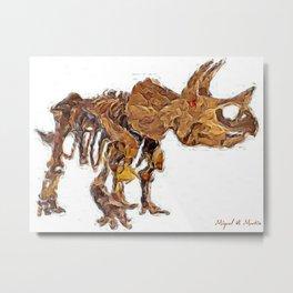 Animal companion Metal Print